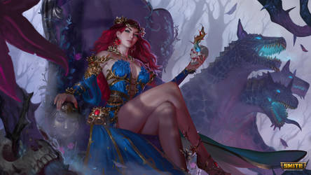Persephone - Mastery skin - SMITE