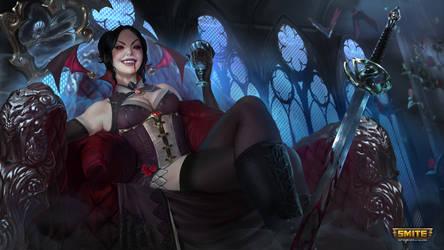 Vampiress Amaterasu - Smite