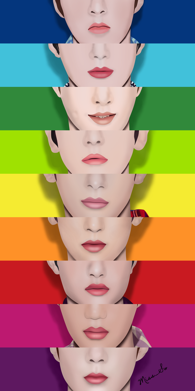 EXO Rainbow Collection - OT9 by MissSw