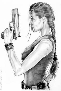 TOMB RAIDER - Angelina Jolie