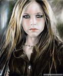 AVRIL LAVIGNE  a portrait