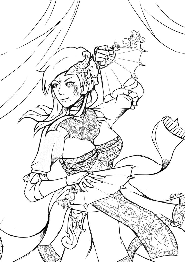 Dancing Warrior  by PandeWiratama