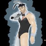James in a Bunny Suit: Stubble by Snowsetgirl1