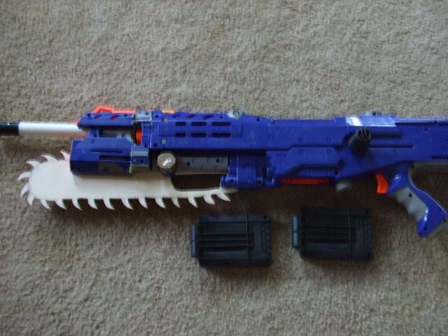Prototype NERF lancer 2 by CrimsonFox36
