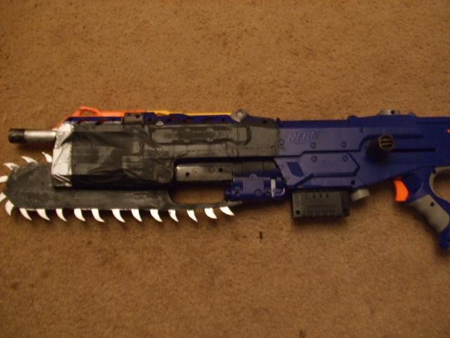 Prototype NERF Lancer 3 by CrimsonFox36