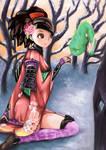 Momohime and Jinkuro
