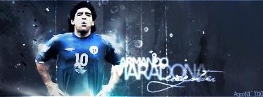 Petición de Equipo - Página 7 Armando_Maradona_by_AgonMustafa