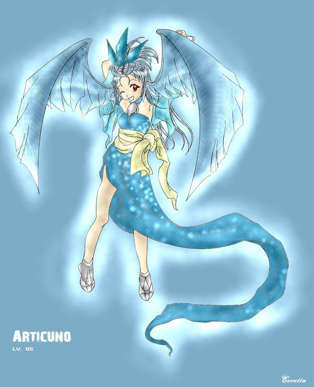 Gijinka Articuno by Eevetta on DeviantArt