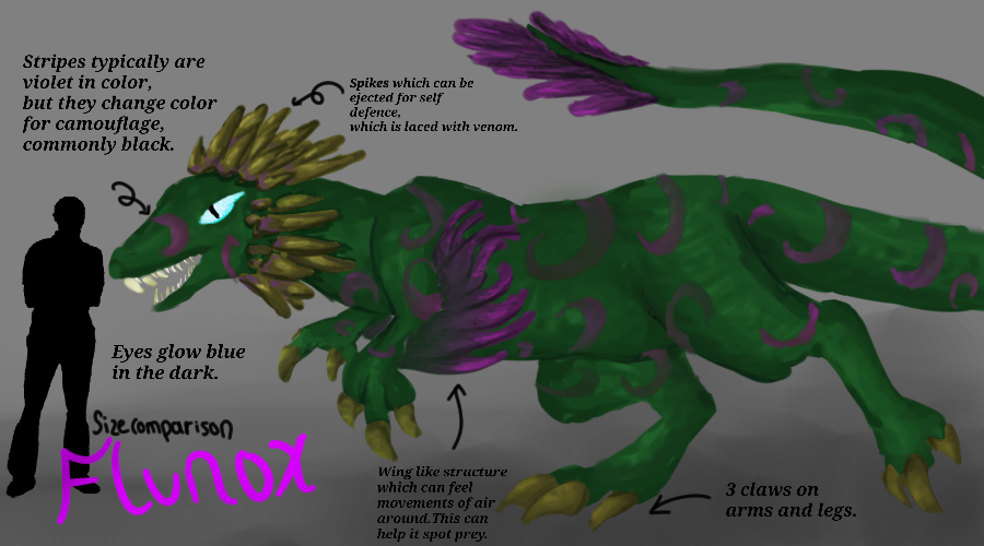 Flunox-Woodland creature,contest entry by GrowLegends