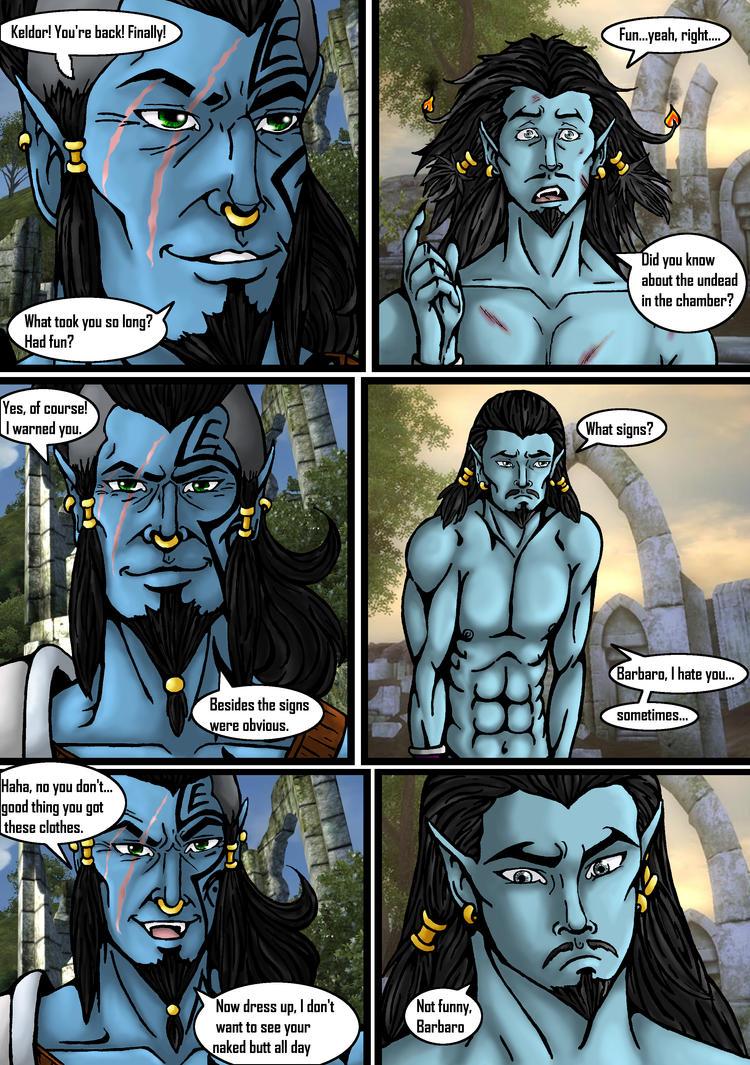 Keldor: dead ahead pg 6 by SkeletorsPain