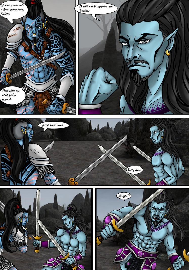 Keldor: training pg 1 by SkeletorsPain