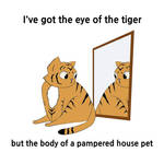 Eye of the Tiger by selftaughtartist1