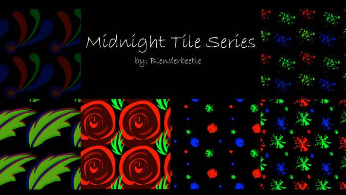 Midnight Tile Series