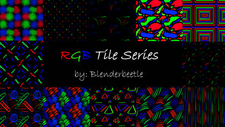 RGB Tile Series Preview by selftaughtartist1