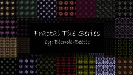 Fractal Tile Series by selftaughtartist1