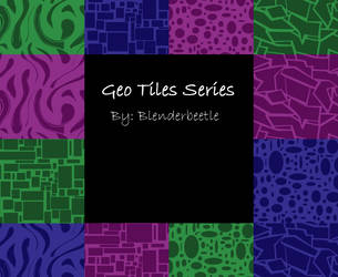 Geo Tiles Series Preview by selftaughtartist1