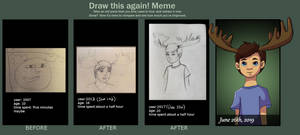 Draw this Again : Mooseboy