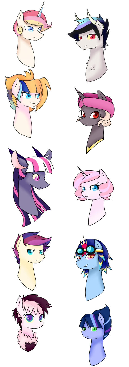 MLP Next(Next)Gen Characters by Elitas-2