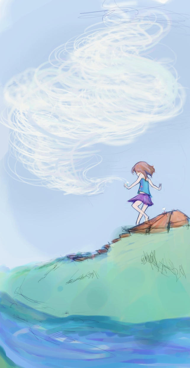 A Walk With Clouds by WingingItStudios