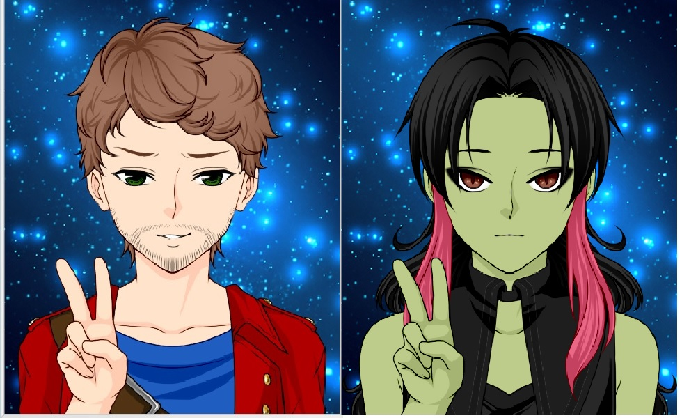 Star Lord And Rocket Raccoon By Timothygreenii On Deviantart: Star-Lord And Gamora~ By GuardiaStar On DeviantArt