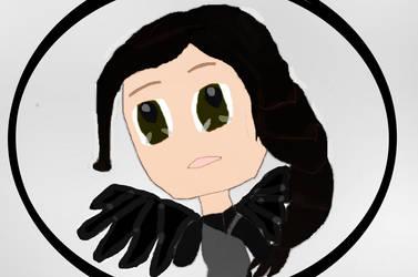 ~Commission: Chibi Katniss for thegreenyeun95