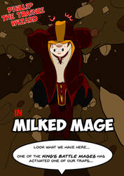 Cover : Milked Mage (Part 1) by KingRiek