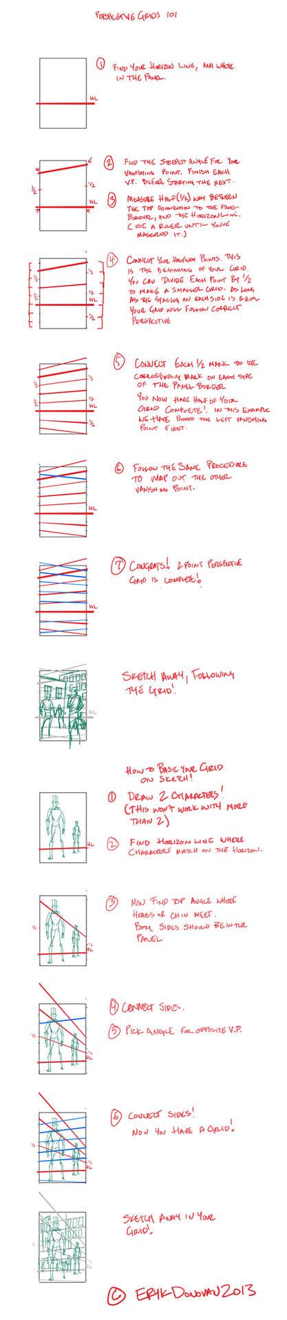 Perspective Grid Tutorial by Erykkr