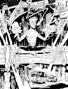 Constantine:The Hellblazer #13 DPS Pg. 4-5