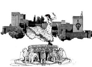 Programa 01 Palanka Andalucia ilustracion punky