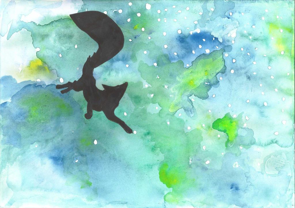 Space fox by ZenStarFox