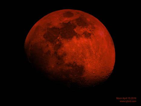 Moon April 15 2019