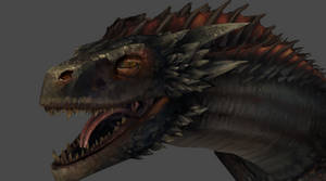Game of Thrones - Drogon by DarkHeroZark