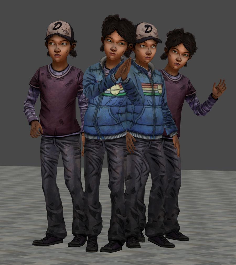 The Walking Dead Season Two Clementine By Darkherozark On
