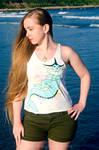 Vaporeon Splash Shirt by blueJAY2