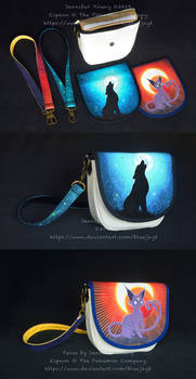 Customizable Purse: Howl and Eclipse