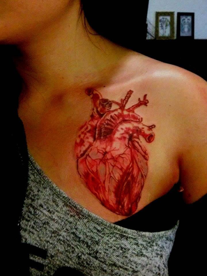 Cpierre777 cpierre deviantart for Heart tattoo nipples