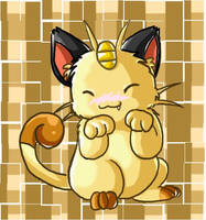 Meowth by coconuttree
