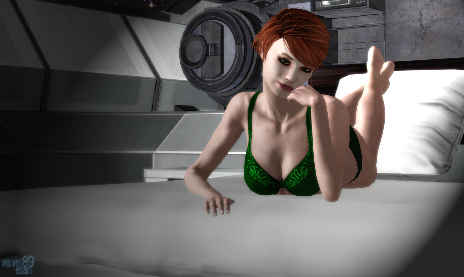 Mass effect kelly porn exposed porn star