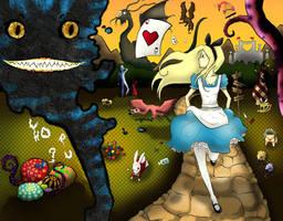 Alice's Nightmare. by amandemisa
