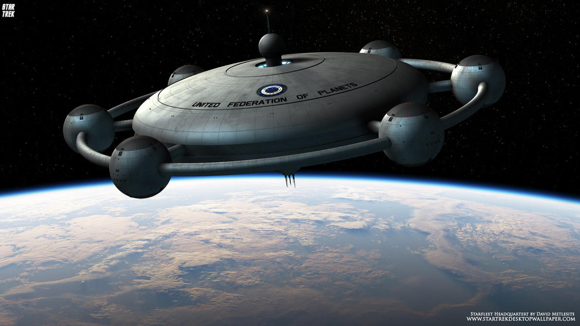 Star Trek Starfleet Headquarters by Zodi