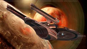 USS Enterprise NCC-1701-B Space Exploration