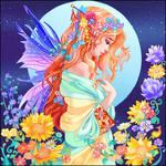 Flowery moon