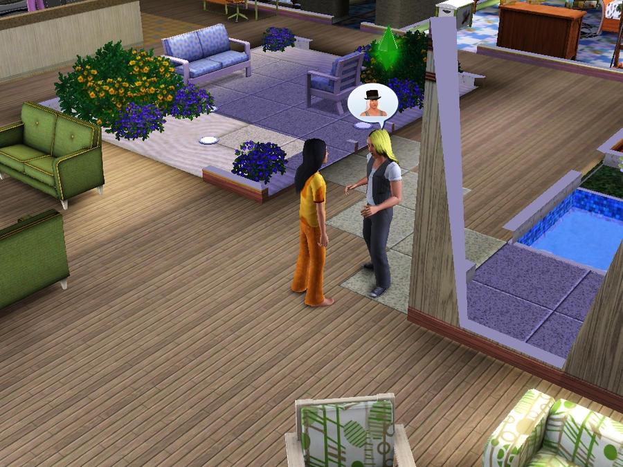 Sims  Baby Girl Food