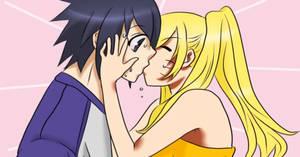 Naruko x Sasuke KISS KISS KISS!!!