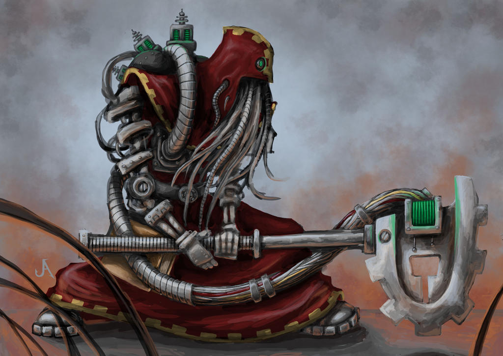 [W40K] Collection d'images : Adeptus Mechanicus Skitarii_by_jasperavent-d7fno8v