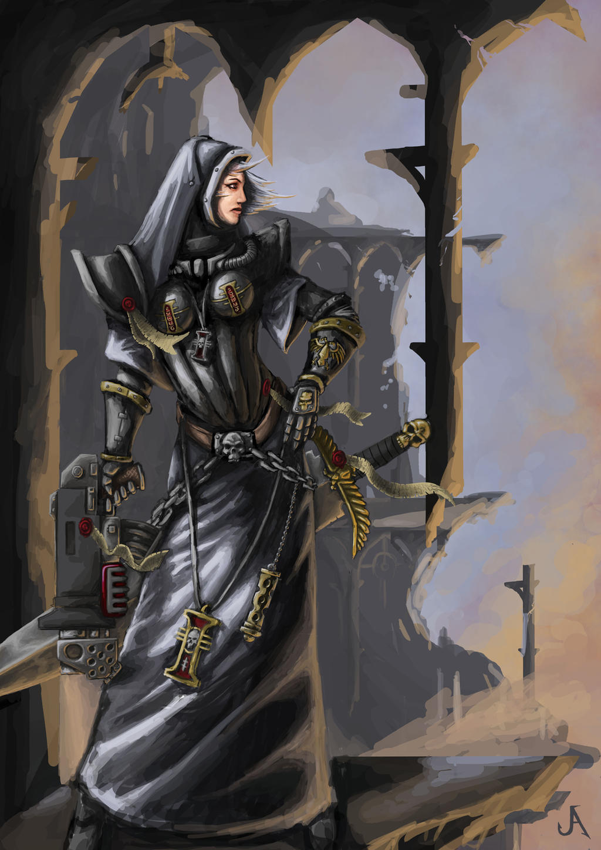 Inquisitor lady by jasperavent on DeviantArt
