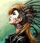 Cyber punk girl 2