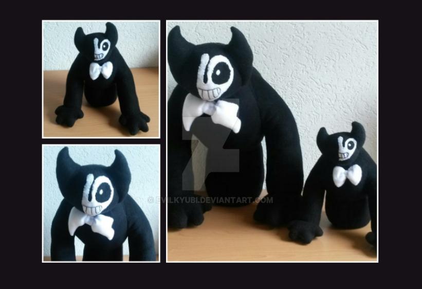 2D Bendy Plush - Beast Form by Evilkyubi