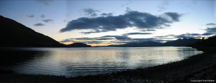 Loch Rannoch blue