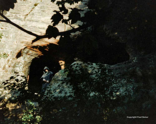 Figure in cave Elemental Lords 1993